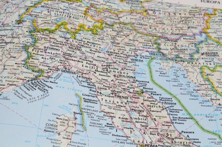 Cartina Politica E Fisica Italia.Cartina Muta Fisica E Politica Dell Italia Online Da Stampare Piuscuola